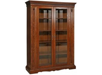 Книжный шкаф для гостиной «Милана 5/1» П396.04 (черешня)