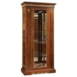 Шкаф-витрина для гостиной «Милана 8» П265.08-01 (черешня с золочением)