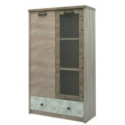 Шкаф-витрина Дизель 1V1D1SL/D2 энигма
