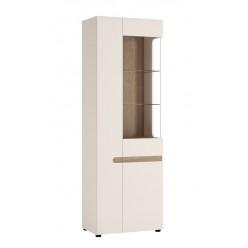 Шкаф-витрина для посуды Линате 3D/TYP 01P (правый)
