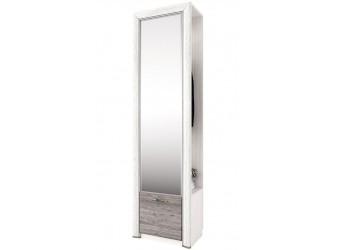 Шкаф для одежды с зеркалом Оливия 1DZ
