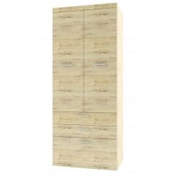 Двухстворчатый шкаф для одежды Оскар 2D3S