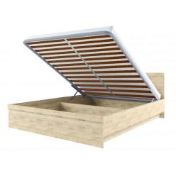Двуспальная кровать Оскар 160 с подъемным механизмом
