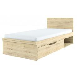 Односпальная кровать Оскар 90 с выдвижным ящиком