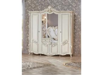 Шкаф 4-х дверный Беатрис