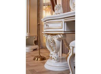 Спальня Марелла (белый с золотом) 6-и дверный шкаф