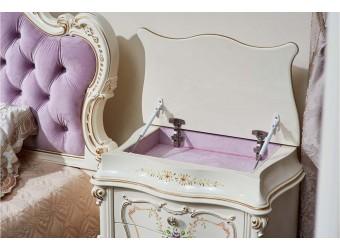 Спальня Шанель (крем) 2-х дверный шкаф