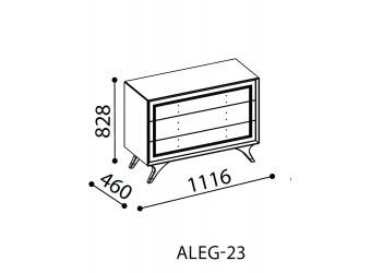 Комод в спальню Алегро ALEG-23