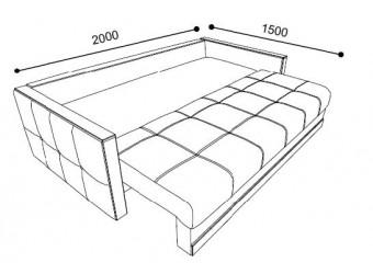 Трехместный диван-кровать LYON (Лион) LYON-02