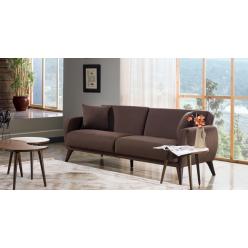 Трехместный Диван-кровать Flexy Флекси (коричневый)
