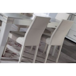 Обеденные стулья для гостиной Мира MIRA-05-06 белые