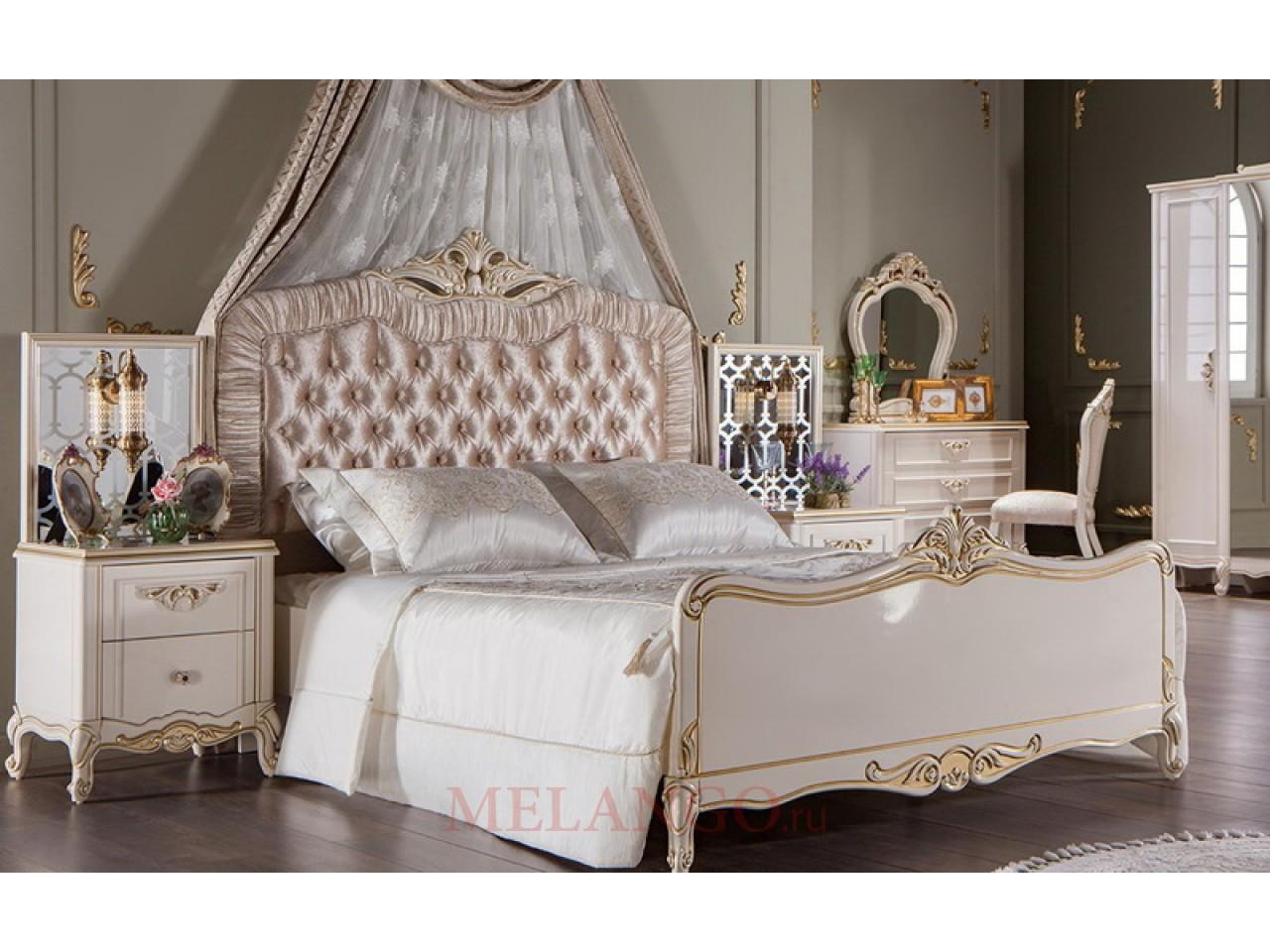 Двуспальная кровать GUSTO (Густо) GUST-26
