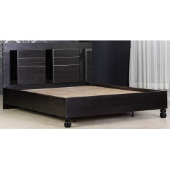Двуспальная кровать Мира MIRA-26 венге