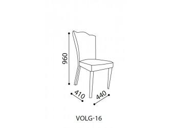Обеденный стул для гостиной Волга(светлый) VOLGA-16