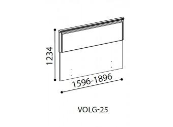 Спинка для кровати Волга(светлая) VOLGA-25-180