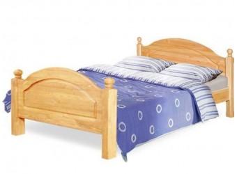 Односпальная кровать Лотос сосна Б-1089-05 (натуральная сосна)