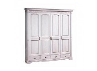Четырехстворчатый шкаф для одежды Паола БМ-2164 (розовый пепел)