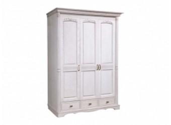 Трехстворчатый шкаф для одежды Паола БМ-2165 (розовый пепел)