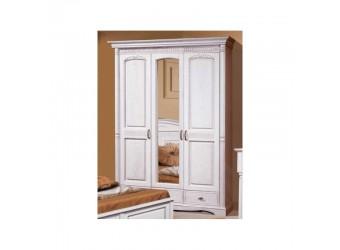 Трехстворчатый шкаф для одежды Паола БМ-2165-01 (розовый пепел)