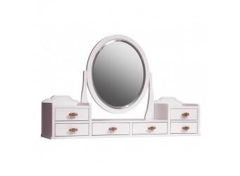 Зеркало для туалетного столика Паола (розовый пепел)