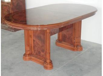 Обеденный стол раздвижной Роза (орех)