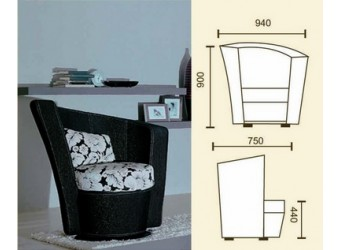 Кресло для отдыха Капри