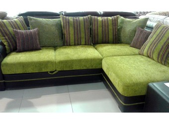 Угловой диван Париж от фабрики Дубрава