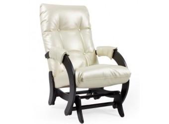 Кресло-качалка глайдер Комфорт № 68 из дерева с маятниковым механизмом