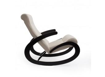 Кресло-качалка Комфорт № 1 из дерева с ортопедической спинкой сборно-разборное