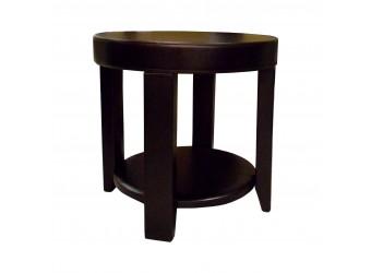 Столик кофейный Комфорт № 23 круглый из дерева