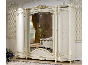 Пятистворчатый шкаф для одежды Венеция КА-ШК