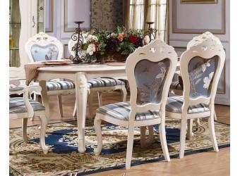 Обеденный стол Мона Лиза КА-ОС белый