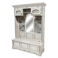 Шкаф для прихожей Викинг 04 (браширование)