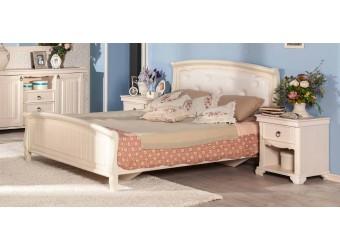 Кровать 1800 с мягкой спинкой (Без основания) Амели