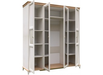 Шкаф четырехстворчатый с зеркалами Вилладжио ЛД 680.110(1)