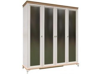 Шкаф четырехстворчатый с зеркалами Вилладжио ЛД 680.111