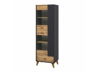 Шкаф комбинированный Сканди МН-036-10(графит)