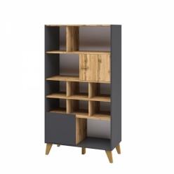 Шкаф комбинированный Сканди МН-036-11(графит)