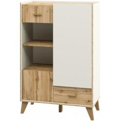 Шкаф комбинированный Сканди МН-036-08