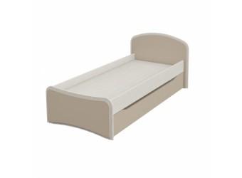 Выкатная кровать для двоих детей Комби МН-211-09 капучино