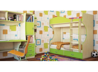 Мебель для детской Комби композиция 2 от Мебель-Неман