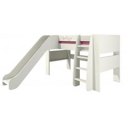 Двухъярусная кровать с горкой Сакура КРД120-2Д0 от Мебель-Неман