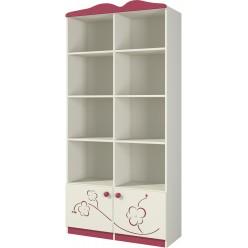 Шкаф в детскую Сакура Ш90-1Д0 от Мебель-Неман
