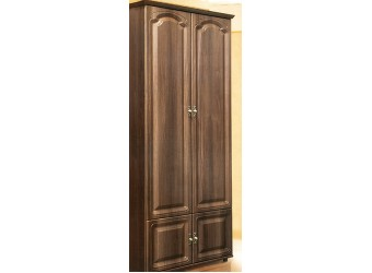 Двухстворчатый шкаф для одежды в гостиную Романтика ВК-09-17