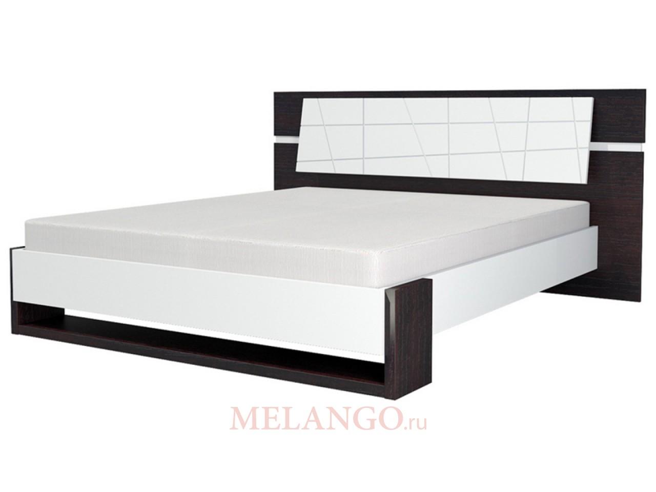Двуспальная кровать с ортопедическим основанием Барселона МН-115-01