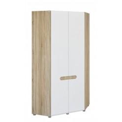Угловой шкаф для одежды и белья Леонардо МН-026-11