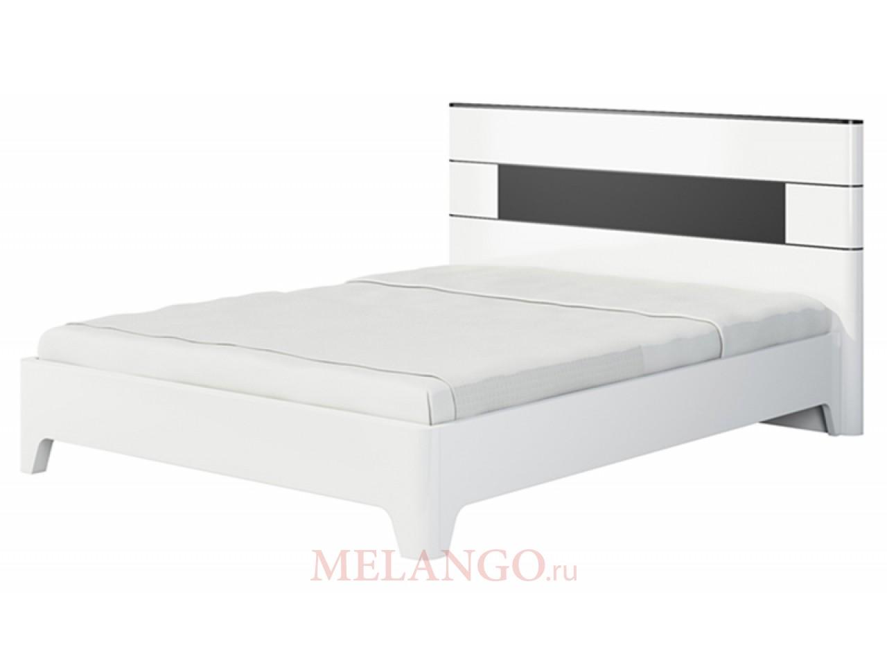 Двуспальная кровать с ортопедическим основанием без подъемного механизма Верона МН-024-01