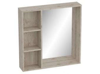 Полка с зеркалом Фан для прихожей