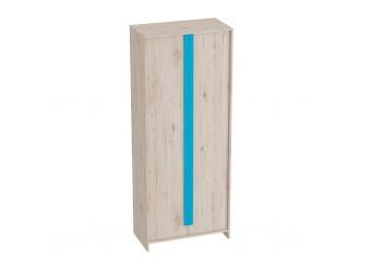 Двухстворчатый детский шкаф для одежды и белья Скаут