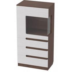 Шкаф-витрина Виго L1400